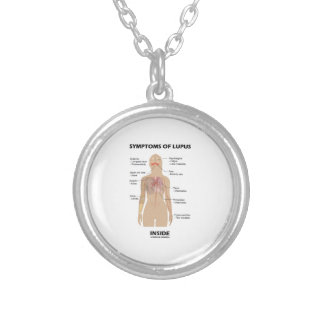 Symptoms Of Lupus Inside Autoimmune Disorder Silver Plated Necklace