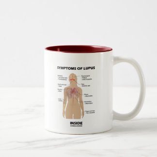 Symptoms Of Lupus Inside (Autoimmune Disorder) Two-Tone Coffee Mug