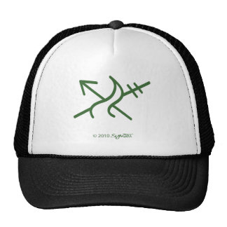 SymTel Green Courageous Symbol Hats