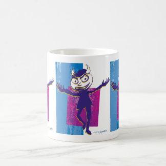 SymTell Blue Layered Naughty Dancer Coffee Mug
