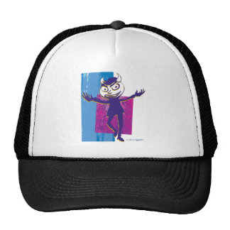 SymTell Blue Layered Naughty Dancer Mesh Hats