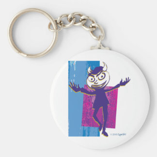 SymTell Blue Layered Naughty Dancer Key Chain