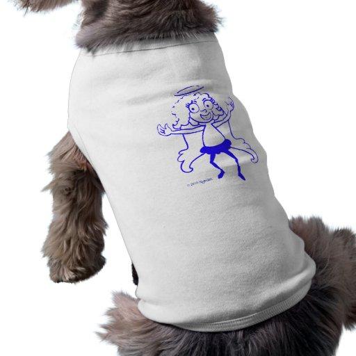 SymTell Blue Nice Dancer Doggie Tshirt