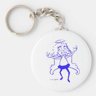 SymTell Blue Nice Dancer Keychains