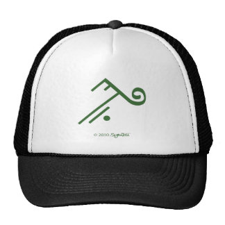 SymTell Green Accepting Symbol Trucker Hat