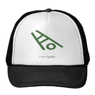 SymTell Green Apathetic Symbol Trucker Hat