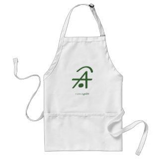 Symtell Green Dishonest Symbol Adult Apron