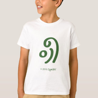 SymTell Green Fickle Symbol T-Shirt