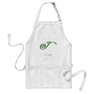 SymTell Green Fulfilled Symbol Adult Apron
