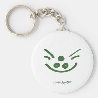 SymTell Green Greedy Symbol Keychains
