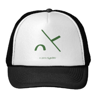 SymTell Green Intimidated Symbol Hat