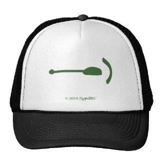 SymTell Green Regretful Symbol Trucker Hat