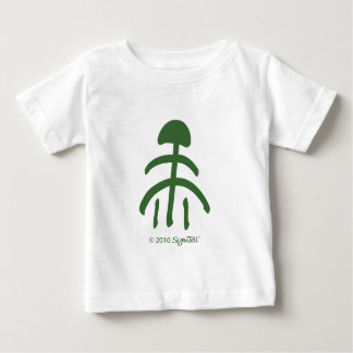 SymTell Green Relief Symbol Baby T-Shirt