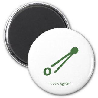 SymTell Green Rude Symbol Magnet