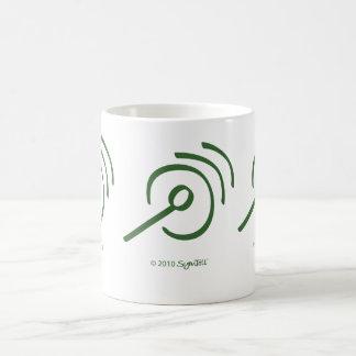 SymTell Green Self-Centered Symbol Coffee Mug