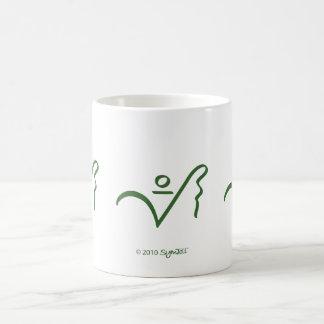 SymTell Green Selfless Symbol Mugs