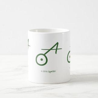 SymTell Green Spontaneous Symbol Coffee Mug