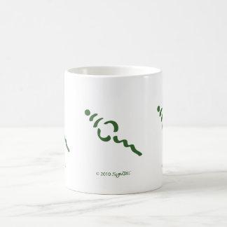 SymTell Green Superficial Symbol Mugs