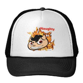 SymTell Naughty Dancer Winner Head Trucker Hats