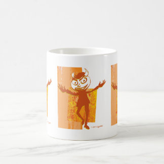 SymTell Orange Layered Naughty Dancer Mugs