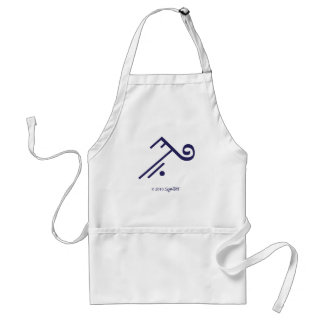 SymTell Purple Accepting Symbol Apron