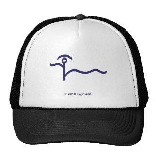 SymTell Purple Altruistic Symbol Trucker Hat