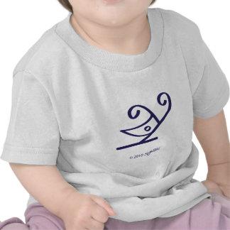 SymTell Purple Cheerful Symbol Shirts