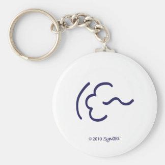 SymTell Purple Flexible Symbol Key Chains