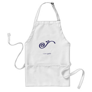 SymTell Purple Fulfilled Symbol Adult Apron