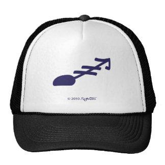 SymTell Purple Hopeless Symbol Mesh Hat