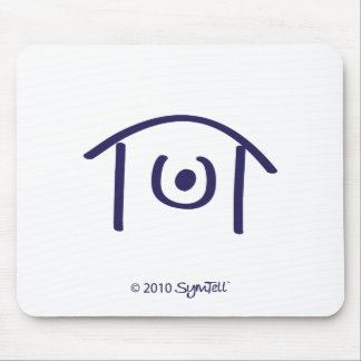 SYmtell Purple Humiliated Symbol Mouse Pad