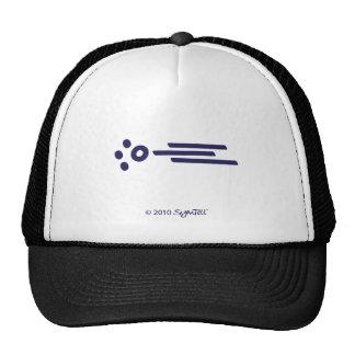 SymTell Purple Possessive Symbol Trucker Hat