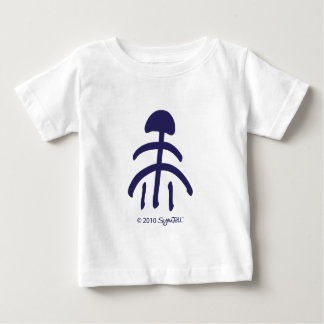 Symtell Purple Relief Symbol Baby T-Shirt