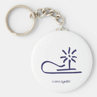 SymTell Purple Resentful Symbol Key Chains