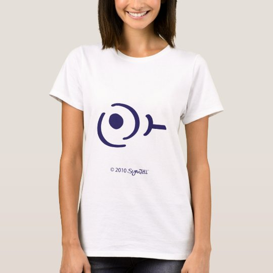 SymTell Purple Selfish Symbol T-Shirt