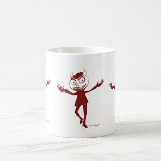 SymTell Red Naughty Dancer Coffee Mug