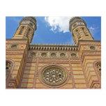 Synagogue, Budapest, Hungary Postcard