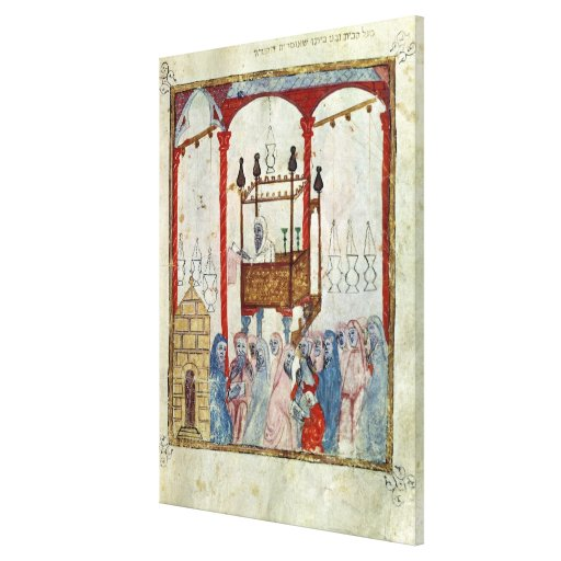 Synagogue, c.1350, Northern Spain Gallery Wrap Canvas