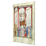 Synagogue, c.1350, Northern Spain Canvas Prints