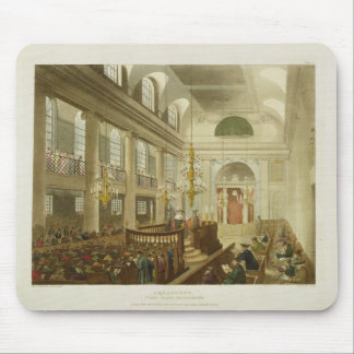 Synagogue, Dukes Place, Houndsditch, from Ackerman Mouse Pad