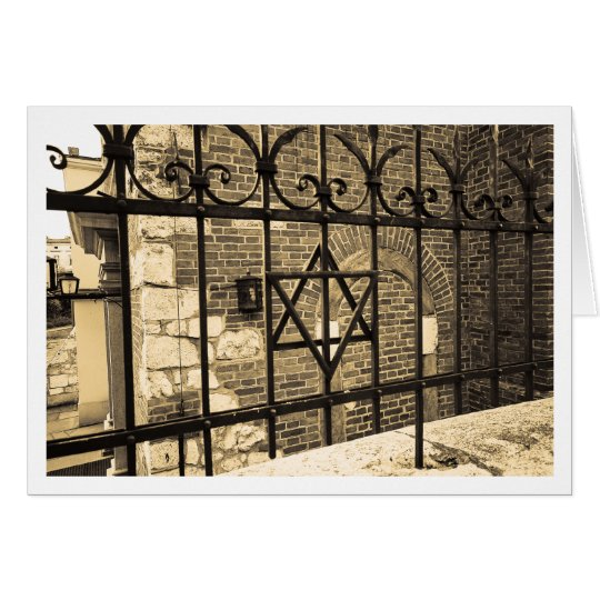 Synagogue in Kazimierz Card