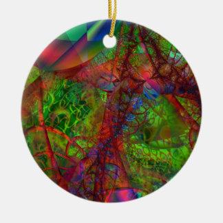 Synapse Ceramic Ornament