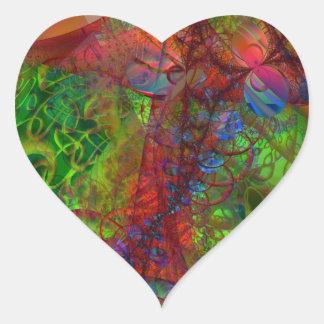 Synapse Heart Sticker