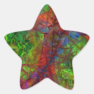 Synapse Star Sticker
