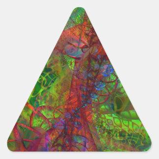Synapse Triangle Sticker