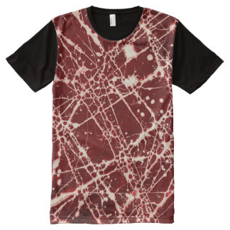 SYNAPSES (an abstract art design) ~ All-Over-Print T-Shirt