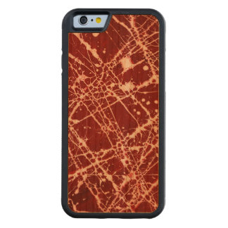 SYNAPSES CARVED® CHERRY iPhone 6 BUMPER
