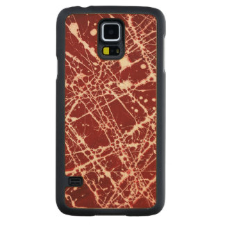 SYNAPSES CARVED® MAPLE GALAXY S5 CASE