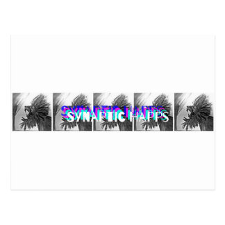 Synaptic Happs Logo Postcard