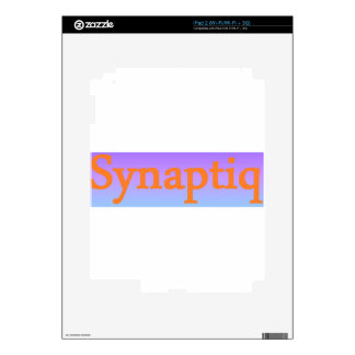 Synaptiq Society store iPad 2 Skin
